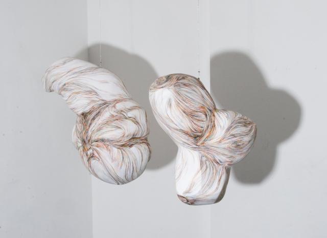 """Filomena Borecka """"Mysterium Conjunctionis"""" dessin tridimensionel, Paris 2011"""